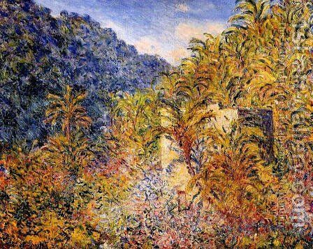 The Valley Of Sasso by Claude Oscar Monet - Reproduction Oil Painting
