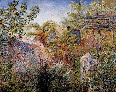 The Valley Of Sasso  Bordighera by Claude Oscar Monet - Reproduction Oil Painting
