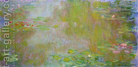 The Water Lily Pond3 by Claude Oscar Monet - Reproduction Oil Painting