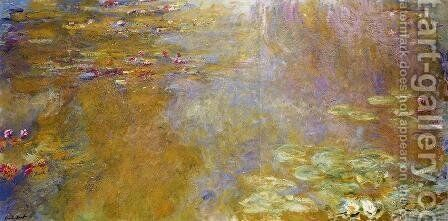 The Water Lily Pond 5 by Claude Oscar Monet - Reproduction Oil Painting