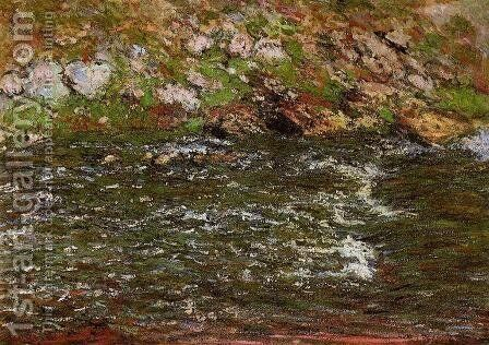 Torrent Of The Petite Creuse At Freeselines by Claude Oscar Monet - Reproduction Oil Painting