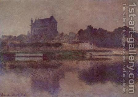 Vernon Church In Grey Weather by Claude Oscar Monet - Reproduction Oil Painting