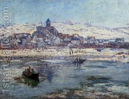 Vetheuil In Winter by Claude Oscar Monet - Reproduction Oil Painting