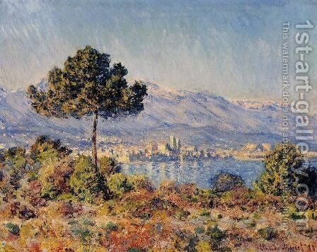 View Of Antibes From The Notre Dame Plateau by Claude Oscar Monet - Reproduction Oil Painting