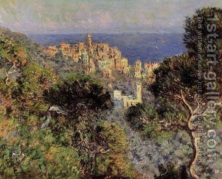 View Of Bordighera by Claude Oscar Monet - Reproduction Oil Painting