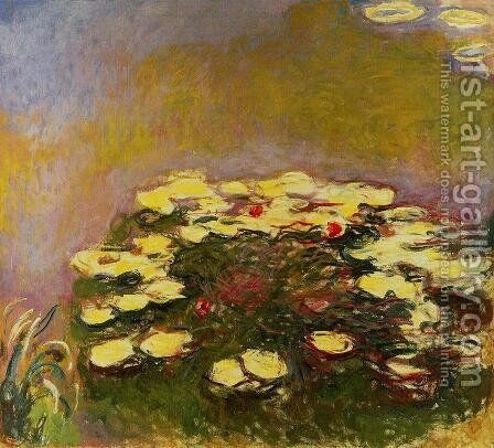 Water Lilies3 by Claude Oscar Monet - Reproduction Oil Painting