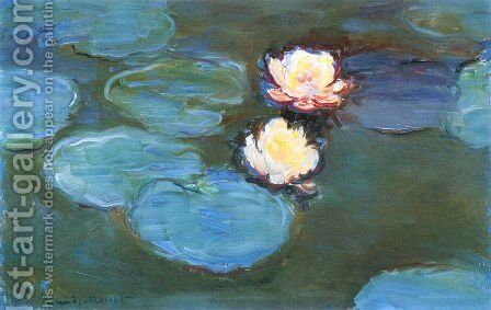 Water Lilies8 by Claude Oscar Monet - Reproduction Oil Painting