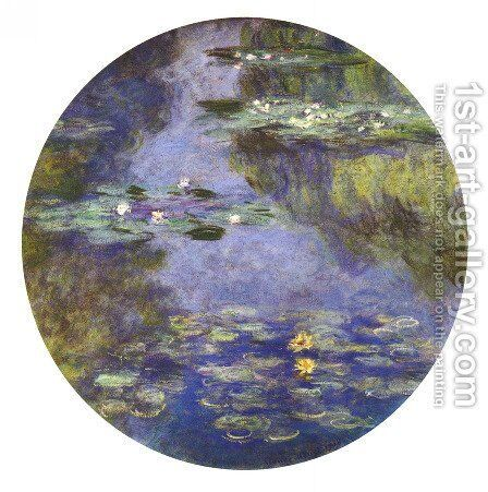 Water Lilies17 by Claude Oscar Monet - Reproduction Oil Painting