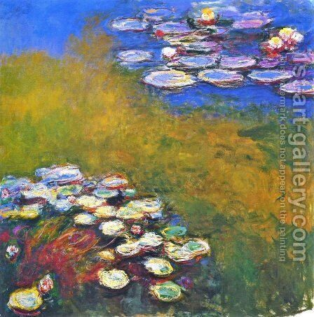 Water Lilies23 by Claude Oscar Monet - Reproduction Oil Painting