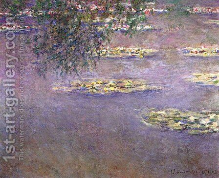 Water Lilies28 by Claude Oscar Monet - Reproduction Oil Painting