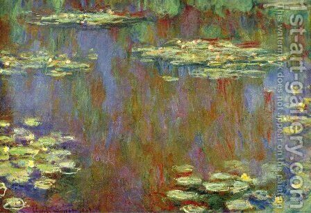 Water Lilies31 by Claude Oscar Monet - Reproduction Oil Painting