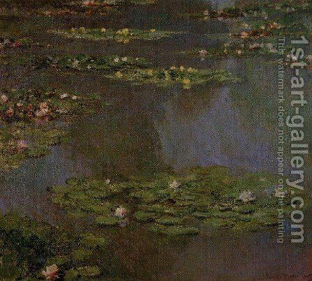 Water Lilies36 by Claude Oscar Monet - Reproduction Oil Painting