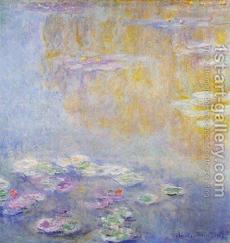 Water Lilies39 by Claude Oscar Monet - Reproduction Oil Painting