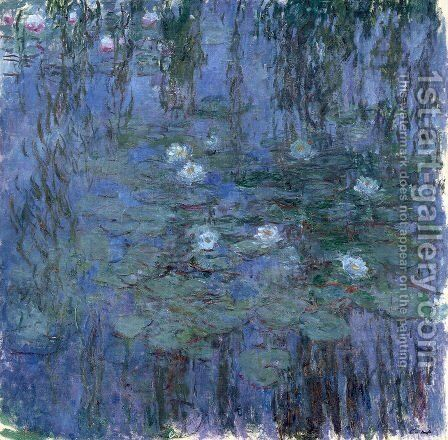Water Lilies42 by Claude Oscar Monet - Reproduction Oil Painting