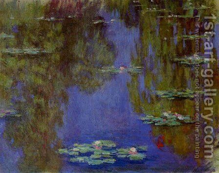 Water Lilies45 by Claude Oscar Monet - Reproduction Oil Painting