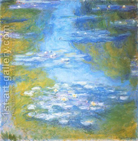 Water Lilies51 by Claude Oscar Monet - Reproduction Oil Painting