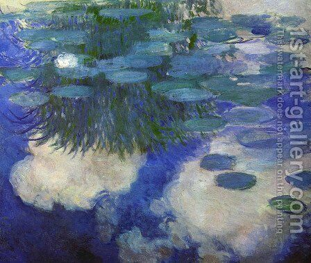 Water Lilies53 by Claude Oscar Monet - Reproduction Oil Painting