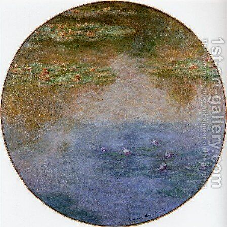 Water Lilies56 by Claude Oscar Monet - Reproduction Oil Painting