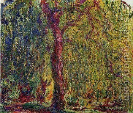 Weeping Willow7 by Claude Oscar Monet - Reproduction Oil Painting