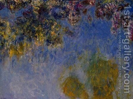 Wisteria by Claude Oscar Monet - Reproduction Oil Painting