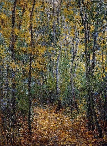 Wood Lane by Claude Oscar Monet - Reproduction Oil Painting