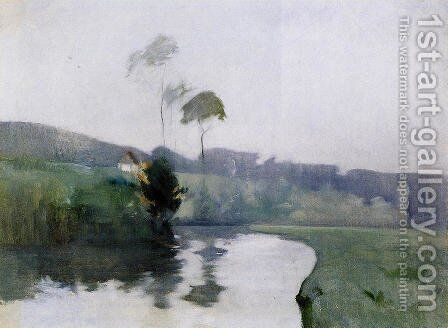 Springtime by John Henry Twachtman - Reproduction Oil Painting