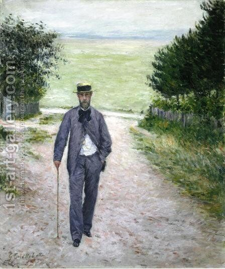 By The Sea Aka Sea Gulls by Gustave Caillebotte - Reproduction Oil Painting