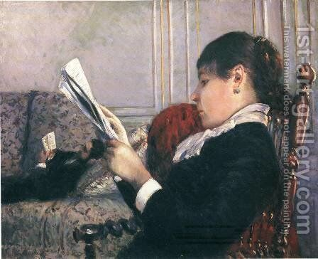 Interior by Gustave Caillebotte - Reproduction Oil Painting