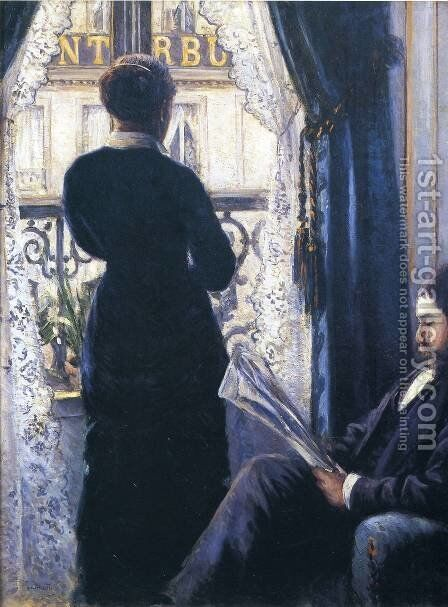 Interior2 by Gustave Caillebotte - Reproduction Oil Painting