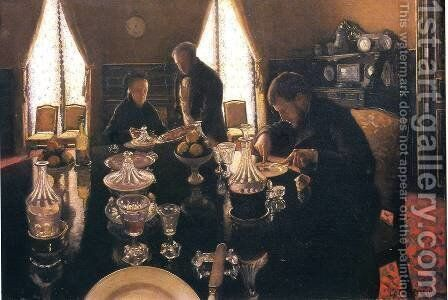 Luncheon by Gustave Caillebotte - Reproduction Oil Painting