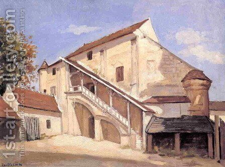 Meaux  Effect Of Sunlight On The Old Chapterhouse by Gustave Caillebotte - Reproduction Oil Painting