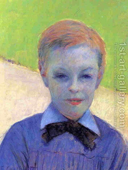 Portrait Of Camille Daurelle by Gustave Caillebotte - Reproduction Oil Painting