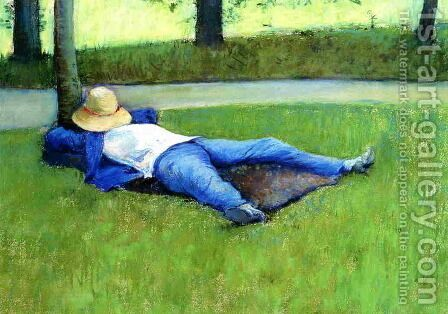 The Nap by Gustave Caillebotte - Reproduction Oil Painting