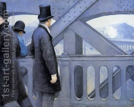 The Pont De Europe by Gustave Caillebotte - Reproduction Oil Painting