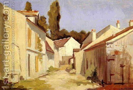 Yerres  Close Of The Abbesses by Gustave Caillebotte - Reproduction Oil Painting