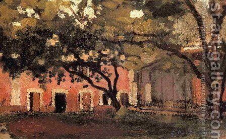 Yerres  The Aviary In The Ornamental Farm by Gustave Caillebotte - Reproduction Oil Painting