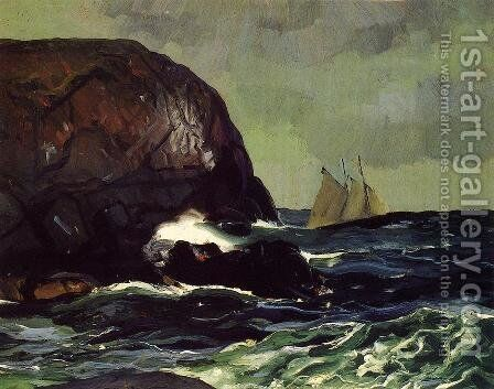 Beating Out To Sea by George Wesley Bellows - Reproduction Oil Painting