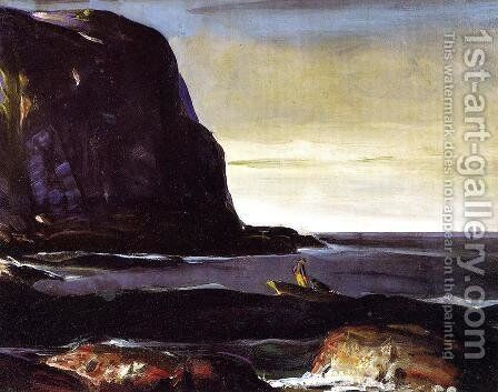 Evening Swell by George Wesley Bellows - Reproduction Oil Painting
