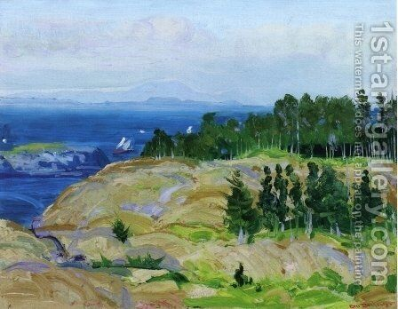 Green Point by George Wesley Bellows - Reproduction Oil Painting