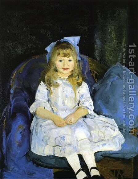 Portrait Of Anne by George Wesley Bellows - Reproduction Oil Painting