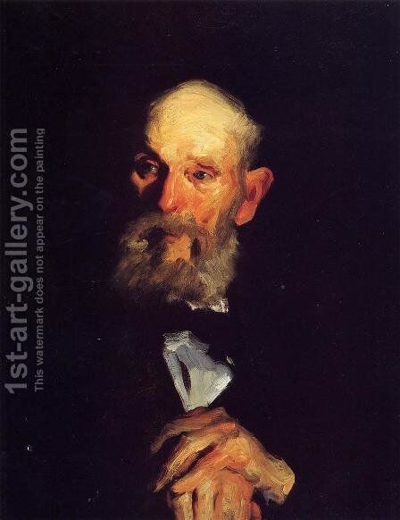 Portrait Of My Father by George Wesley Bellows - Reproduction Oil Painting