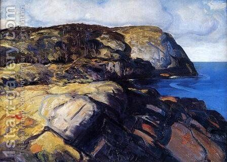 Shaghead by George Wesley Bellows - Reproduction Oil Painting