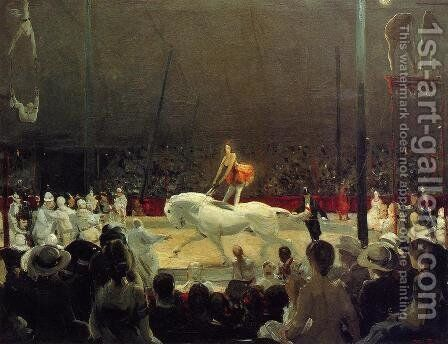 The Circus by George Wesley Bellows - Reproduction Oil Painting