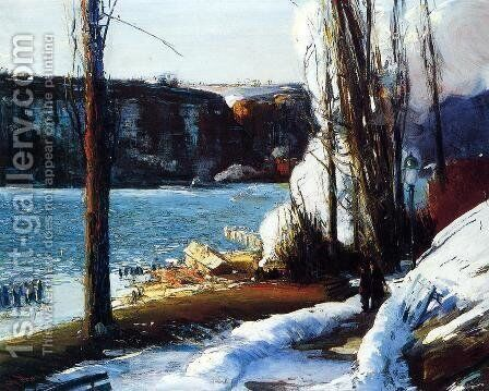 The Palisades by George Wesley Bellows - Reproduction Oil Painting