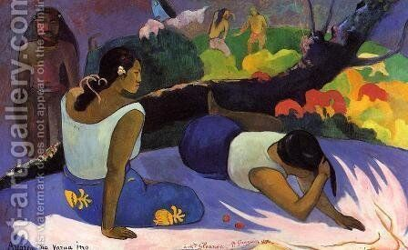 Arearea No Varua Ino by Paul Gauguin - Reproduction Oil Painting