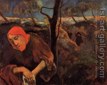 Christ In The Garden Of Olives by Paul Gauguin - Reproduction Oil Painting