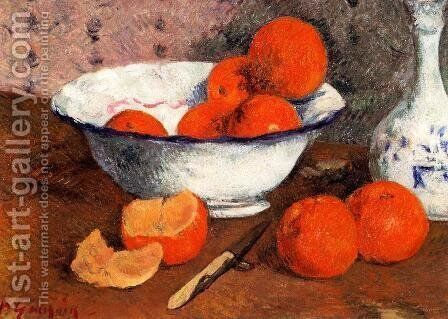 Still Life With Oranges by Paul Gauguin - Reproduction Oil Painting