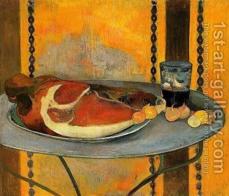 The Ham by Paul Gauguin - Reproduction Oil Painting