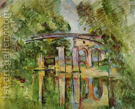 Aqueduct And Lock by Paul Cezanne - Reproduction Oil Painting