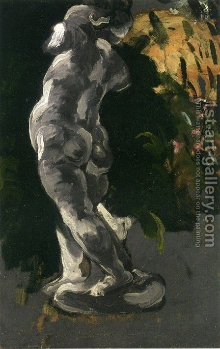 Plaster Cupid by Paul Cezanne - Reproduction Oil Painting